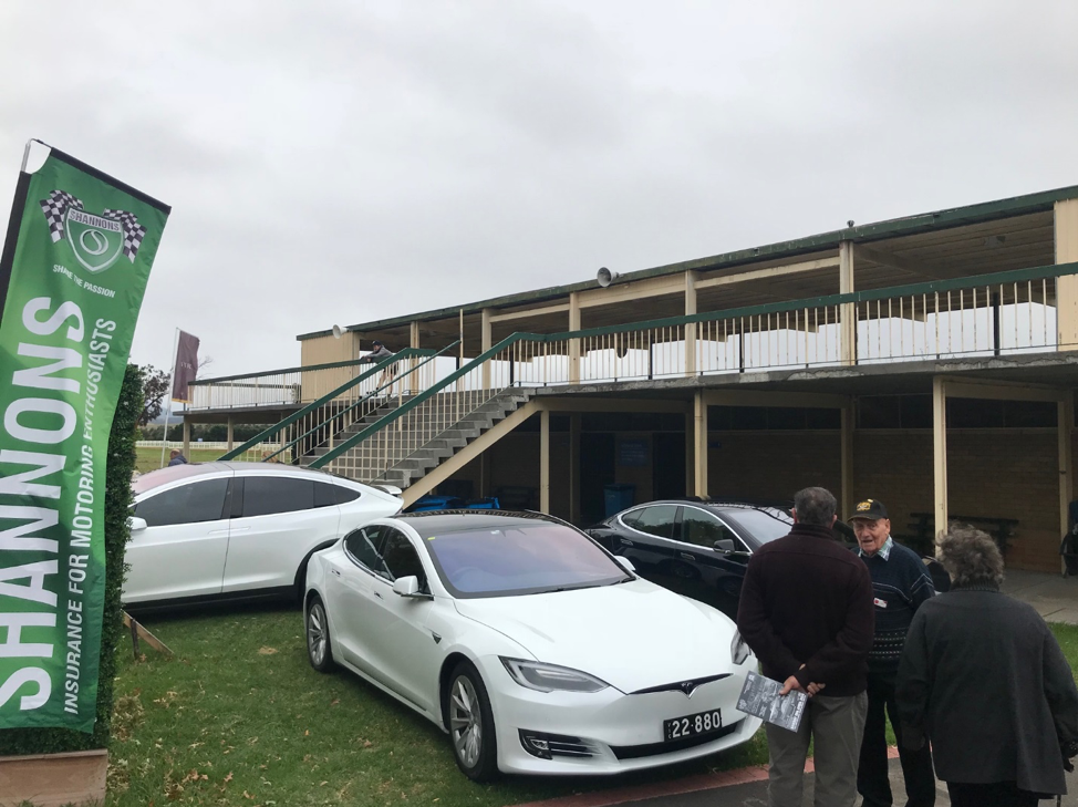 On 15 April Shannons and the Association of Motoring Clubs presented the 2018 American Motoring Show. Normally open only to classic and historic vehicles, a special section was made available to the Tesla Owners Club to show are very modern American Cars.