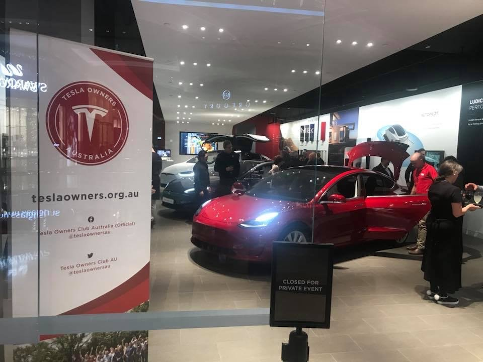 An exclusive Model 3 experience for TOCA members and guests.