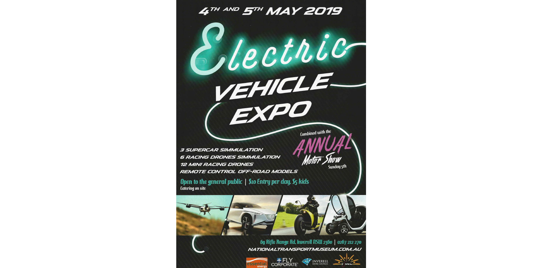 Electric Vehicle Expo Inverell NSW - National Transport Museum