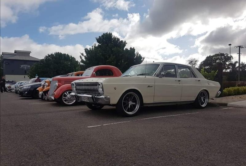 Cars and Coffee in the Barossa