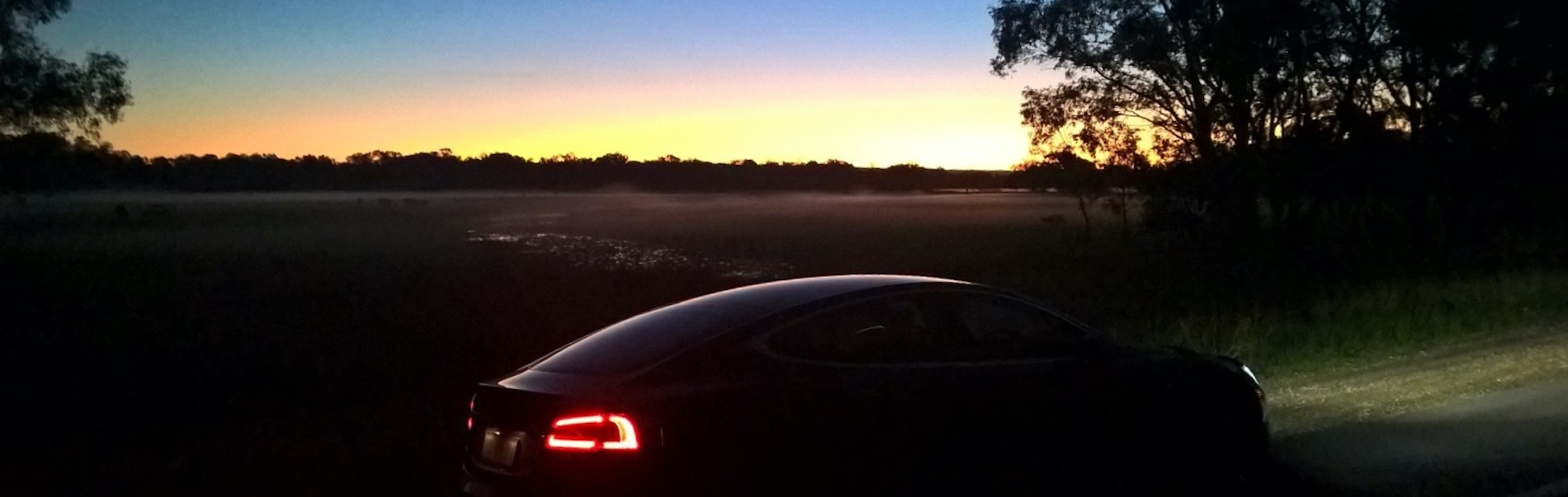 Tesla Owners Club of Australia - Sunset